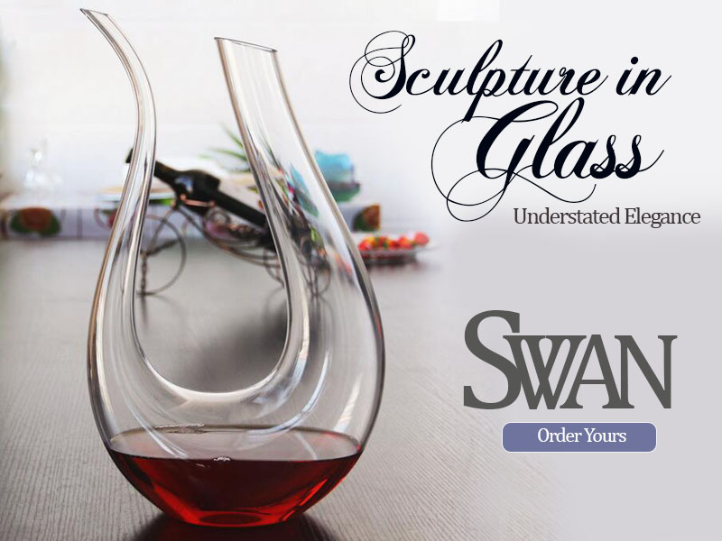 Swan Wine Decanter